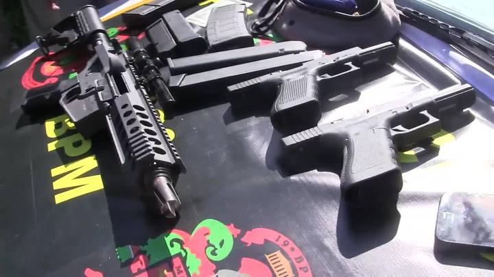 Polícia apreende armamento de guerra em Porto Alegre