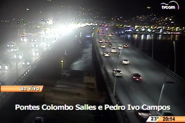TVCOM 20 Horas - Câmeras registram acidente de carro que resultou na morte de duas pessoas - 15.04.15