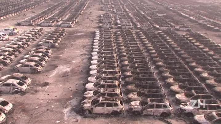 Passa de 40 o número de mortos em explosão na China