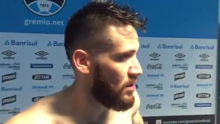 """Marcelo Oliveira, sobre jogo contra o Santos: \""""A vitória hoje era fundamental\"""""""
