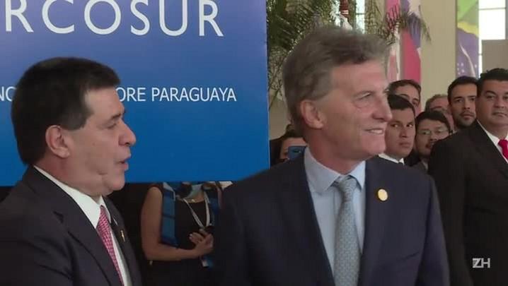 Líderes do Mercosul se encontram em Assunção