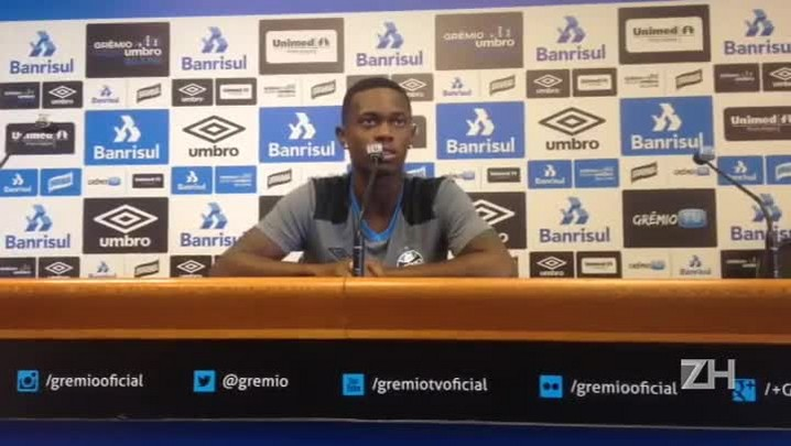 """Lincoln fala sobre titularidade no Grêmio: \""""Tenho que trabalhar mais\"""""""