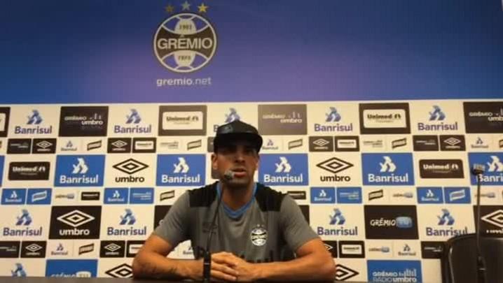 Maicon fala sobre confronto com o Brasil-Pel