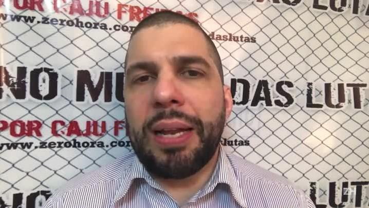 Caju Freitas: o campeão é o azarão no UFC 204