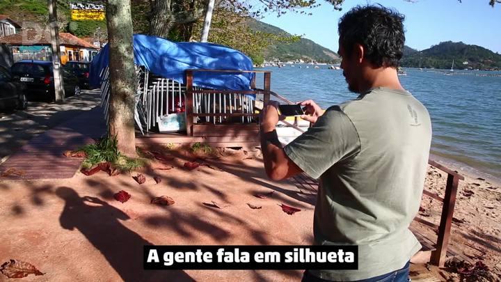 Dicas de fotógrafo ViverSC: silhueta