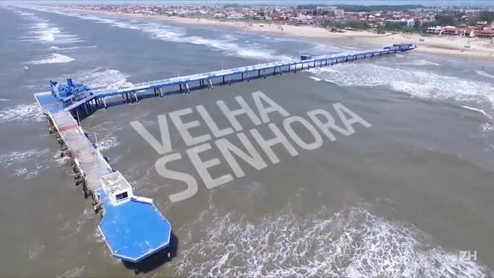 Grupo faz campanha para reformar plataforma de Atlântida