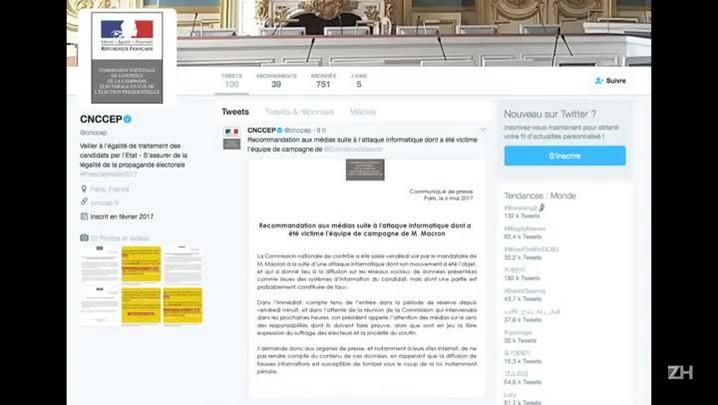 Autoridade eleitoral francesa alerta sobre conteúdo hackeado