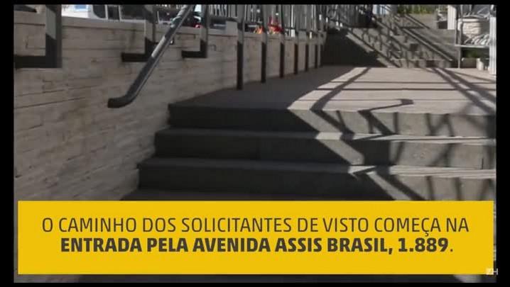 Por dentro do Consulado dos EUA em Porto Alegre