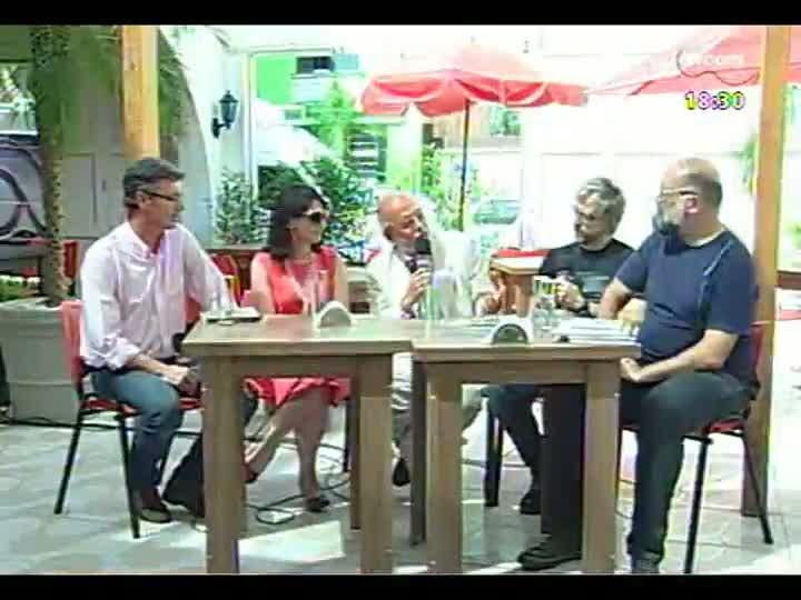 Café TVCOM - 19/01/2013 - Bloco 3 - Permanência das obras dos artistas