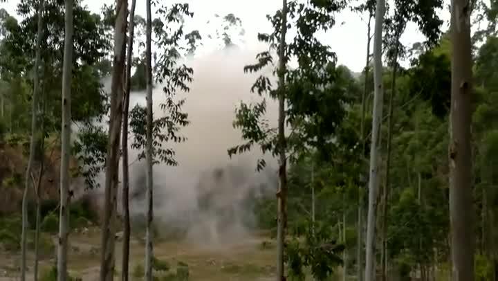 Bope detona explosivos apreendidos em residência de Ibirama