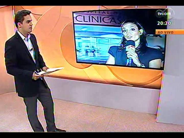 TVCOM 20 Horas - Plantio do novo gramado do Beira-Rio - Bloco 3 - 28/02/2013