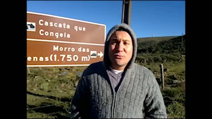 Conheça o Morro das Antenas de Urupema, ponto mais alto da cidade mais fria do Brasil