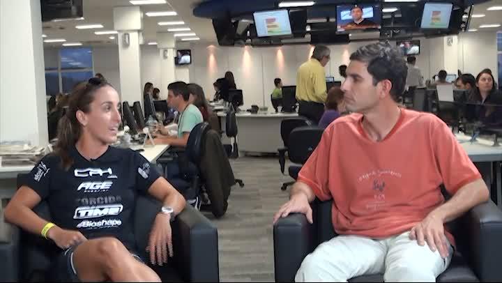 Entrevista com a triatleta Mariana Borges Andrade