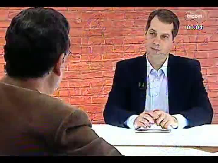 Mãos e Mentes - Consultor de Língua Portuguesa de todo o Sistema Globo de Comunicação, professor Sérgio Nogueira - Bloco 3 - 14/06/2013