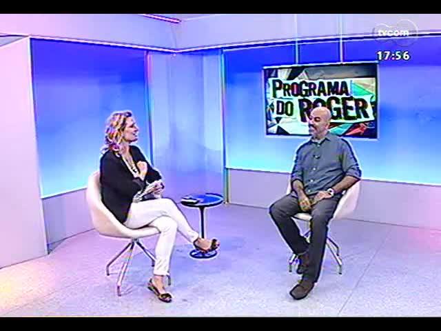 Programa do Roger - diretor Rogério Ferrari fala sobre a websérie \'Urbanautas\' - bloco 2 - 28/10/2013
