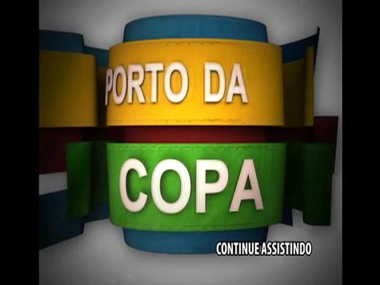 Porto da Copa - Confira como está o novo vestiário do Beira-Rio - Bloco 2 - 11/01/2014