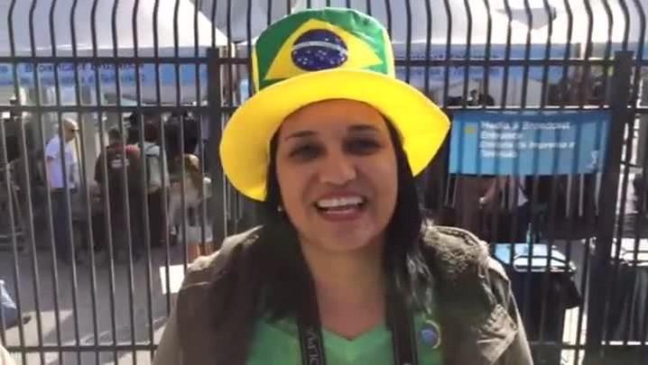 O Gigante na Copa: torcedores já estão chegando ao Itaquerão