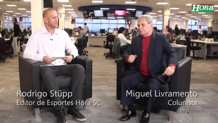 """Miguel Livramento: \""""O Figueirense contrata mal e está cheio de gente no come e dorme\"""""""