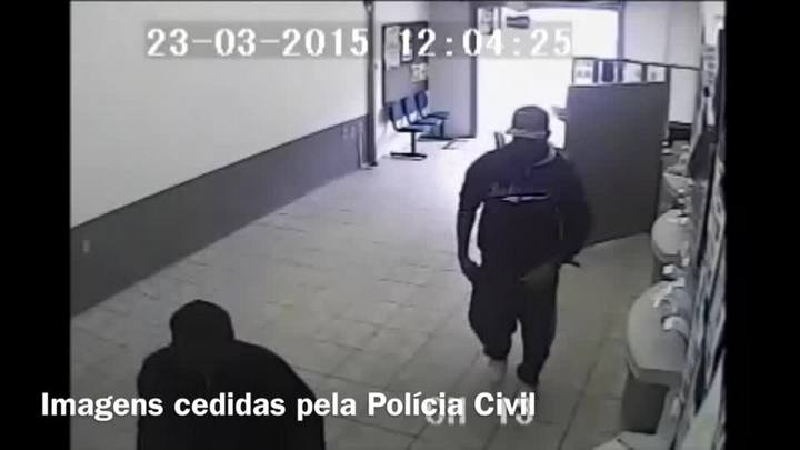 Veja como foi a ação dos assaltantes em lotérica de Canguçu