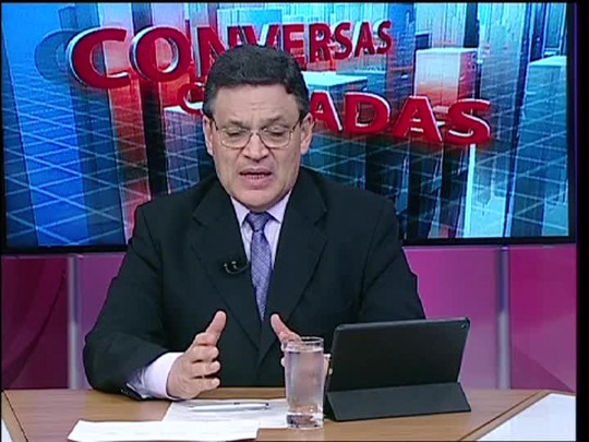 Conversas Cruzadas - Debate sobre a constitucionalidade do piso do funcionalismo - Bloco 1 - 25/03/15