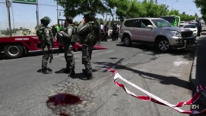 Palestino é morto depois de atropelar policiais israelenses