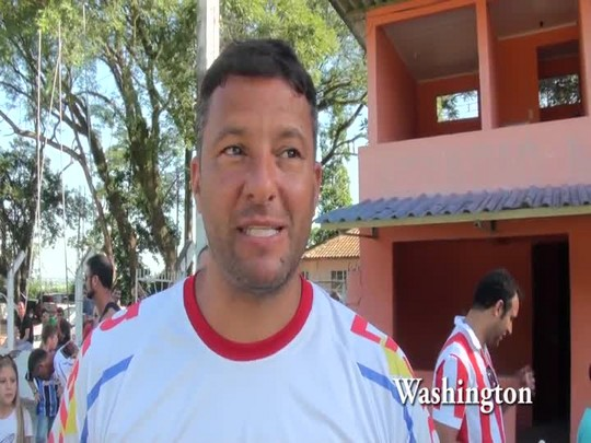 Sandro Sotilli e Washington participam de jogo beneficente