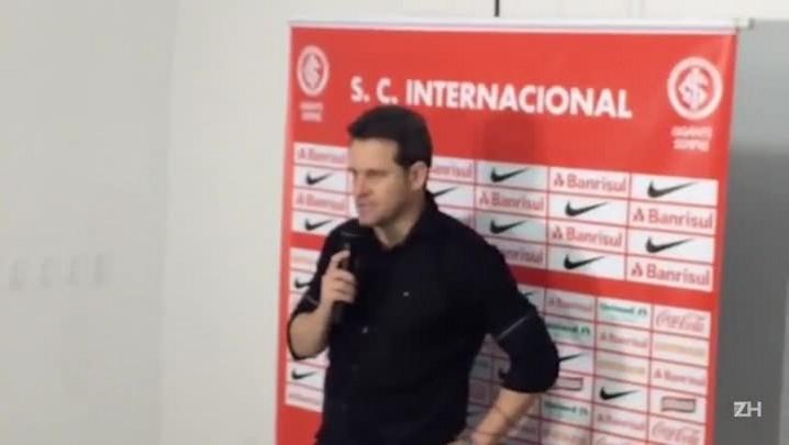 A avaliação de Argel sobre o jogo entre Inter e São José