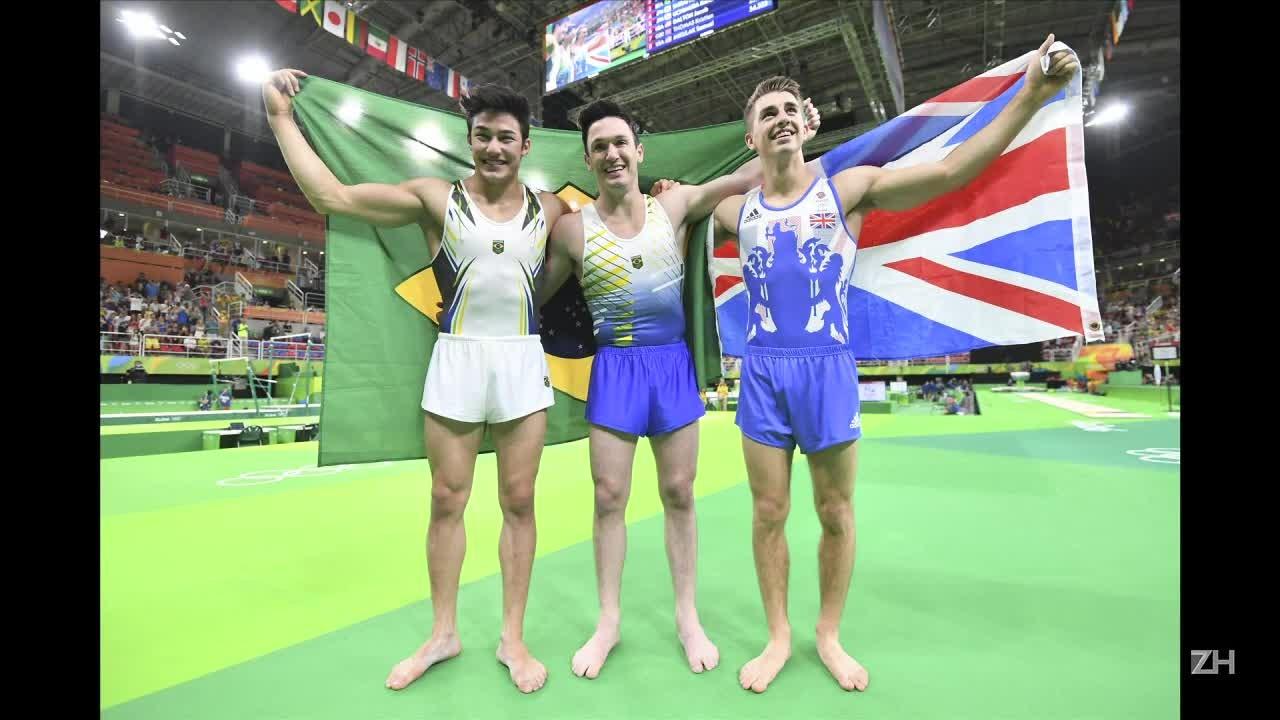 Brasil tem prata e bronze na ginástica masculina