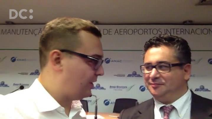 """Diretor de empresa que vai comandar o Hercílio Luz promete fazer o aeroporto trabalhar como \""""relógio suíço\"""""""