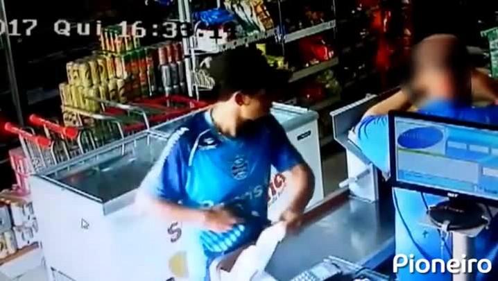 Ladrões são reconhecidos por roubo a mercado no Rio Branco