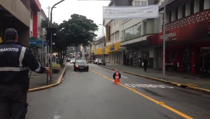 Começa a valer corredor de ônibus na 9 de março em Joinville