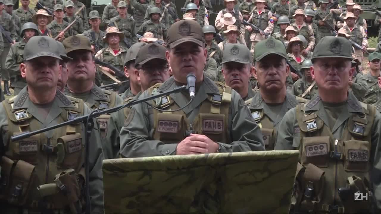 Ministro da Defesa da Venezuela: ameaça de Trump é \'louca\'