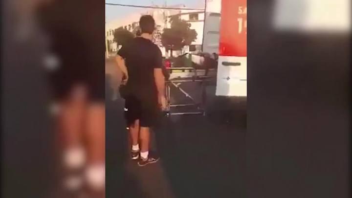 Policial dispara contra homem em ambulância em Uruguaiana