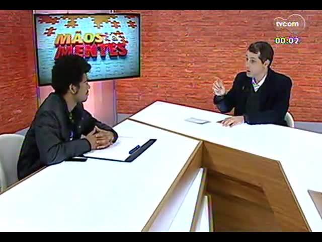 Mãos e Mentes - Editor-chefe do jornal A voz da comunidade, do Complexo do Alemão (RJ), Rene Silva - Bloco 3 - 20/09/2013