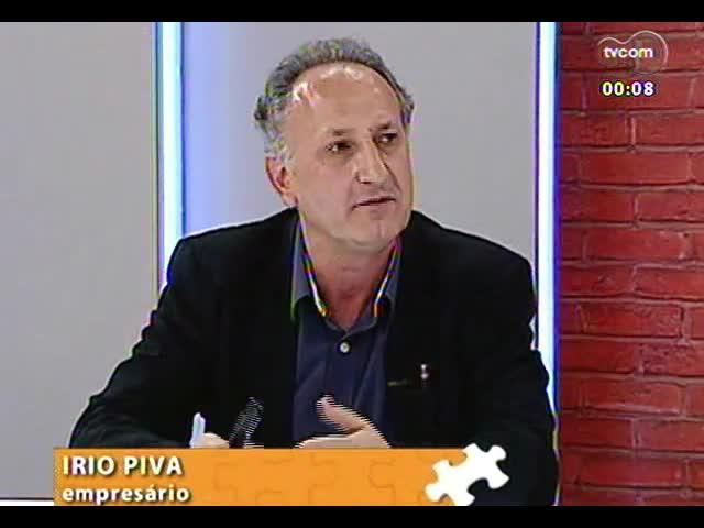Mãos e Mentes - Fundador da empresa Elevato, Irio Piva - Bloco 4 - 11/11/2013