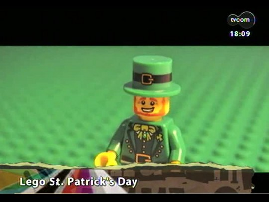 Programa do Roger - Lego St. Patrick\'s Day + Lojinha do Roger - Bloco 3 - 18/03/2014