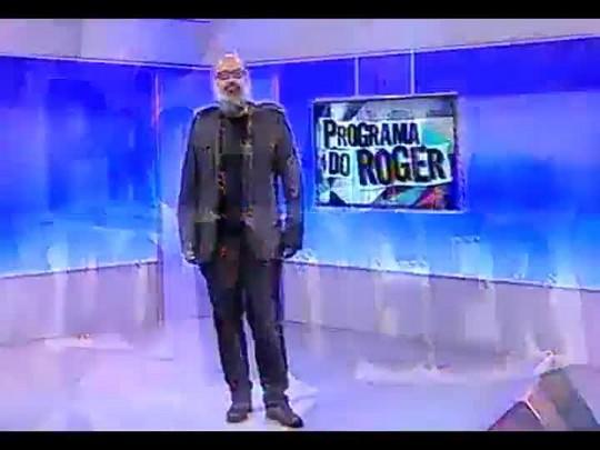 Programa do Roger - Banda Os Horácios - Bloco 1 - 16/05/2014