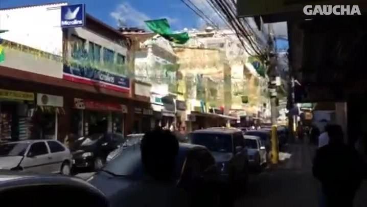 Teresópolis é casa do Brasil e da Copa. 02/06/2014