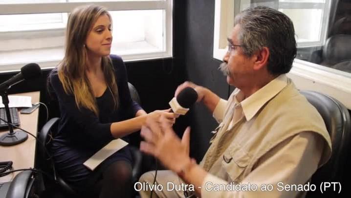 Fala candidato: serei sempre um militante diz Olívio Dutra