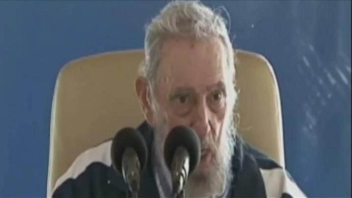 Fidel aparece pela 2ª vez em uma semana