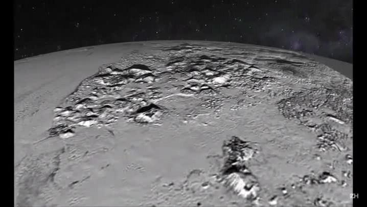 Nasa libera vídeo com imagens de Plutão
