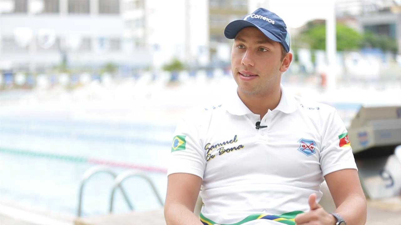 Sem vaga para a Olimpíada, Samuel de Bona comemora retomada da paixão pelo esporte