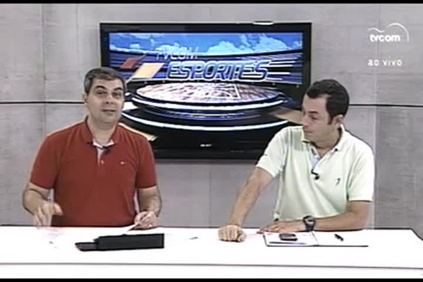 TVCOM Esportes. 3º Bloco. 31.03.16