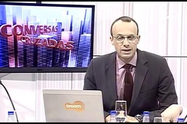 TVCOM Conversas Cruzadas. 4º Bloco 15.06.16