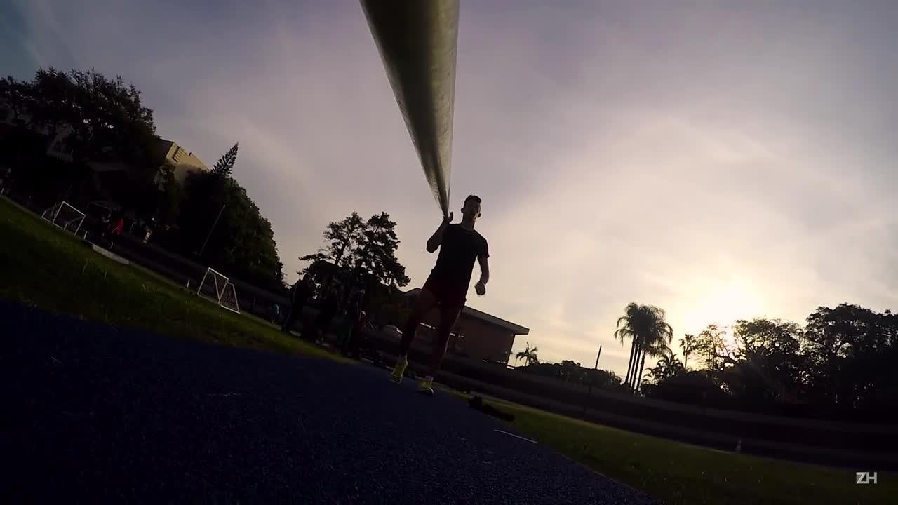 Visão de Atleta: salto com vara
