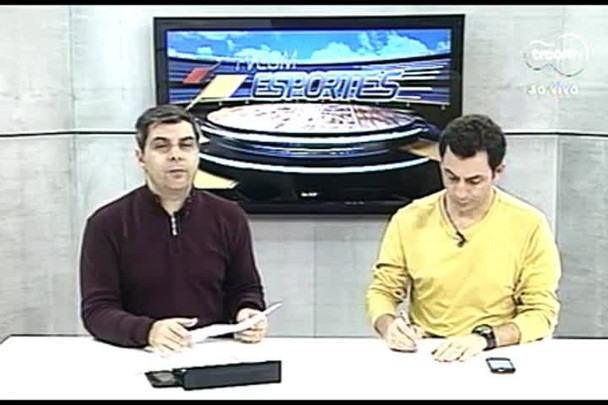 TVCOM Esportes. 3º Bloco. 18.08.16