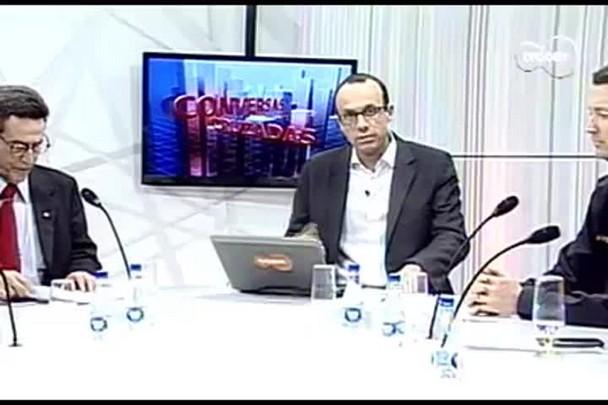 TVCOM Conversas Cruzadas. 4º Bloco. 26.08.16