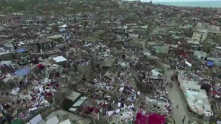As imagens da devastação no Haiti
