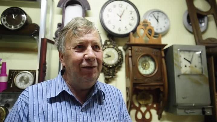Werner Weich: relojeiro há 50 anos