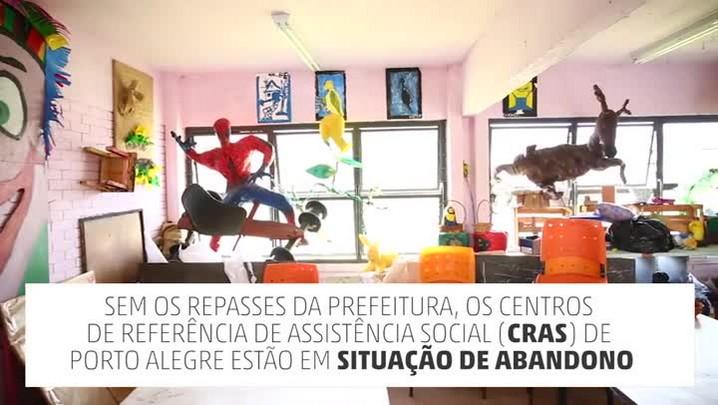 Centros de Referência de Assistência Social enfrentam falta de recursos em Porto Alegre